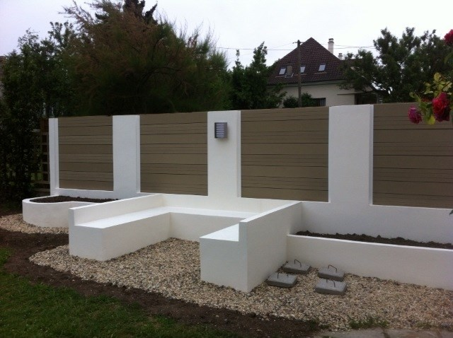 Jardini re interext for Amenagement terrasse exterieure photo