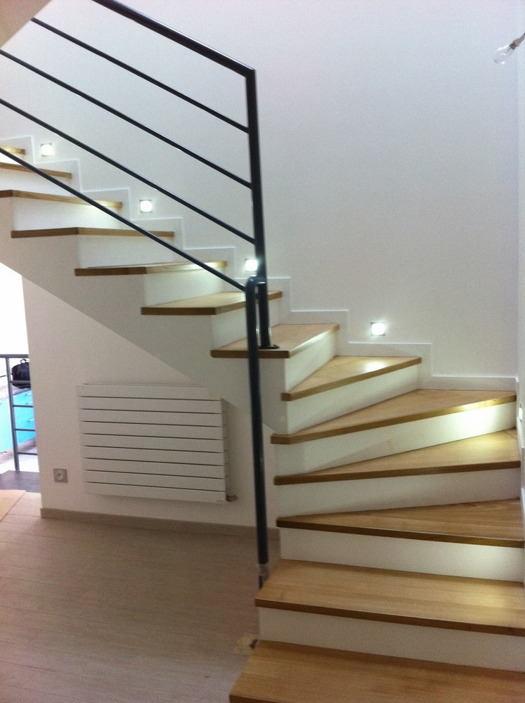 Image gallery escalier interieur for Design escalier interieur