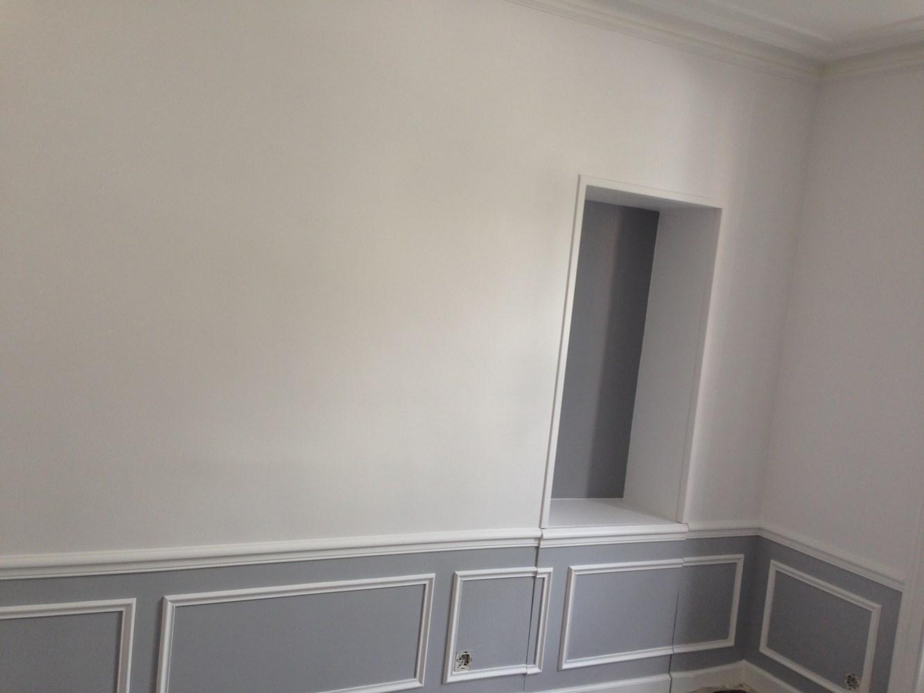 Peinture papier peint vitrerie interext for Peinture renovation v